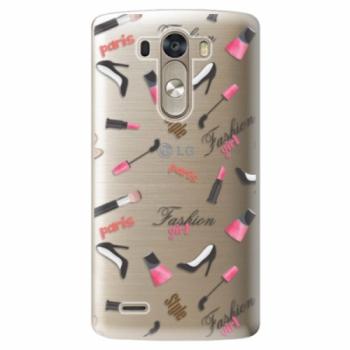 Plastové pouzdro iSaprio - Fashion pattern 01 - LG G3 (D855)