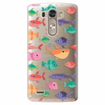 Plastové pouzdro iSaprio - Fish pattern 01 - LG G3 (D855)