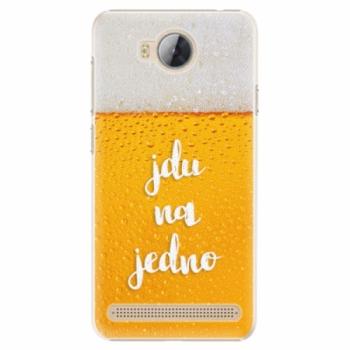 Plastové pouzdro iSaprio - Jdu na jedno - Huawei Y3 II