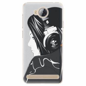 Plastové pouzdro iSaprio - Headphones - Huawei Y3 II