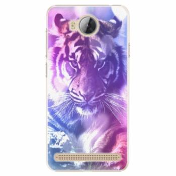 Plastové pouzdro iSaprio - Purple Tiger - Huawei Y3 II