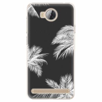 Plastové pouzdro iSaprio - White Palm - Huawei Y3 II
