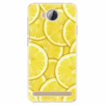 Plastové pouzdro iSaprio - Yellow - Huawei Y3 II
