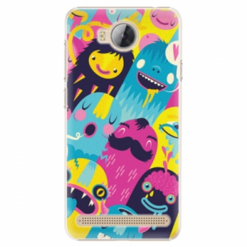 Plastové pouzdro iSaprio - Monsters - Huawei Y3 II