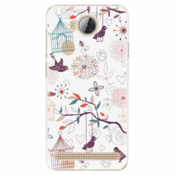 Plastové pouzdro iSaprio - Birds - Huawei Y3 II
