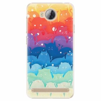 Plastové pouzdro iSaprio - Cats World - Huawei Y3 II