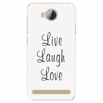 Plastové pouzdro iSaprio - Live Laugh Love - Huawei Y3 II