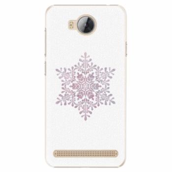 Plastové pouzdro iSaprio - Snow Flake - Huawei Y3 II