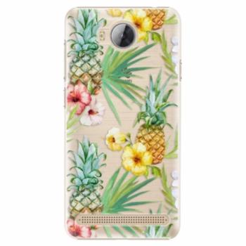 Plastové pouzdro iSaprio - Pineapple Pattern 02 - Huawei Y3 II