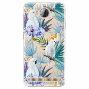 Plastové pouzdro iSaprio - Parrot Pattern 01 - Huawei Y3 II