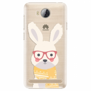 Plastové pouzdro iSaprio - Smart Rabbit - Huawei Y3 II