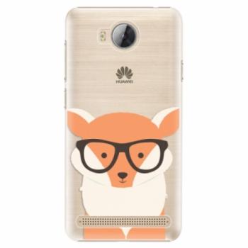 Plastové pouzdro iSaprio - Orange Fox - Huawei Y3 II
