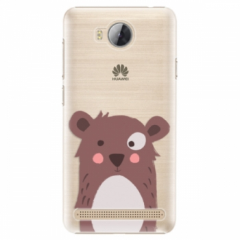 Plastové pouzdro iSaprio - Brown Bear - Huawei Y3 II