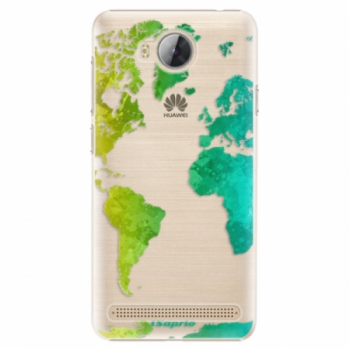 Plastové pouzdro iSaprio - Cold Map - Huawei Y3 II