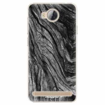 Plastové pouzdro iSaprio - Burned Wood - Huawei Y3 II