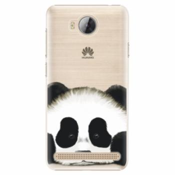 Plastové pouzdro iSaprio - Sad Panda - Huawei Y3 II