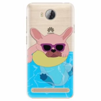 Plastové pouzdro iSaprio - Swimming Dog - Huawei Y3 II