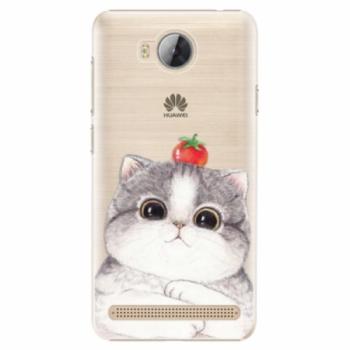 Plastové pouzdro iSaprio - Cat 03 - Huawei Y3 II