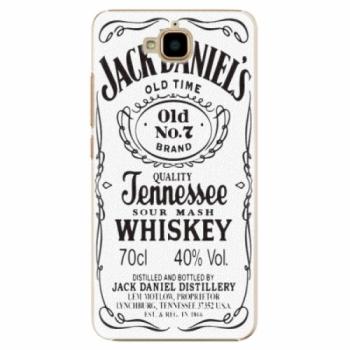 Plastové pouzdro iSaprio - Jack White - Huawei Y6 Pro