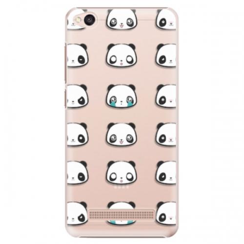 Plastové pouzdro iSaprio - Panda pattern 01 - Xiaomi Redmi 4A