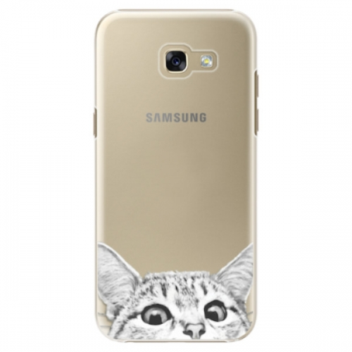 Plastové pouzdro iSaprio - Cat 02 - Samsung Galaxy A5 2017
