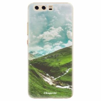 Plastové pouzdro iSaprio - Green Valley - Huawei P10