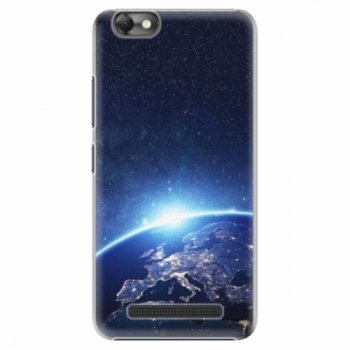 Plastové pouzdro iSaprio - Earth at Night - Lenovo Vibe C