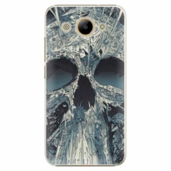 Plastové pouzdro iSaprio - Abstract Skull - Huawei Y3 2017