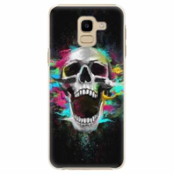 Plastové pouzdro iSaprio - Skull in Colors - Samsung Galaxy J6