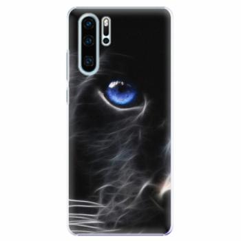 Plastové pouzdro iSaprio - Black Puma - Huawei P30 Pro
