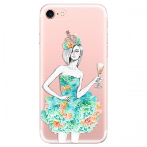Odolné silikonové pouzdro iSaprio - Queen of Parties - iPhone 7