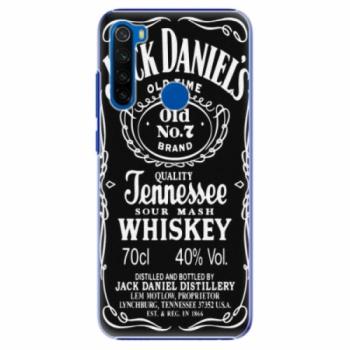 Plastové pouzdro iSaprio - Jack Daniels - Xiaomi Redmi Note 8T