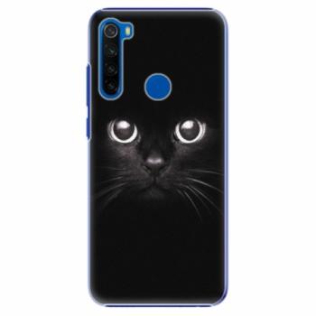 Plastové pouzdro iSaprio - Black Cat - Xiaomi Redmi Note 8T