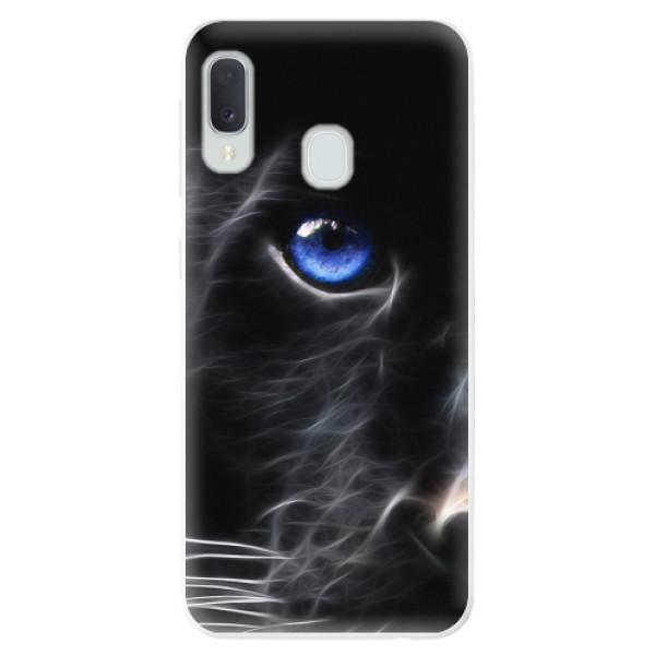 Odolné silikonové pouzdro iSaprio - Black Puma - Samsung Galaxy A20e