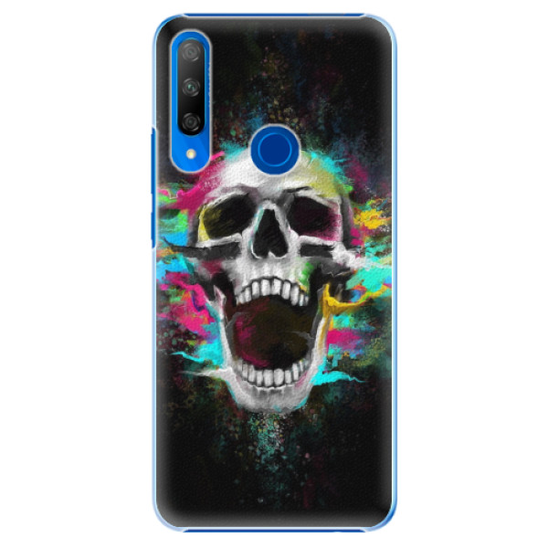 Plastové pouzdro iSaprio - Skull in Colors - Huawei Honor 9X