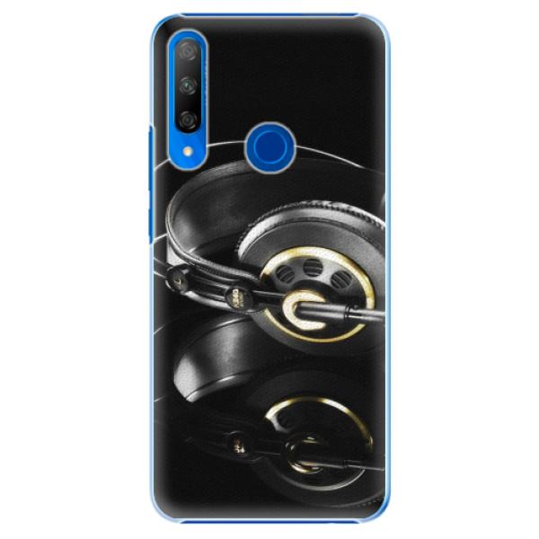 Plastové pouzdro iSaprio - Headphones 02 - Huawei Honor 9X