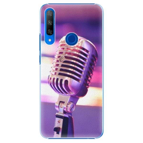 Plastové pouzdro iSaprio - Vintage Microphone - Huawei Honor 9X