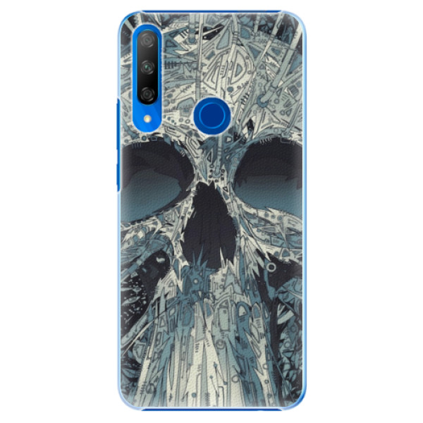Plastové pouzdro iSaprio - Abstract Skull - Huawei Honor 9X