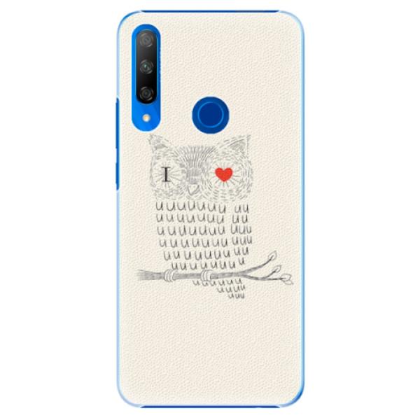 Plastové pouzdro iSaprio - I Love You 01 - Huawei Honor 9X