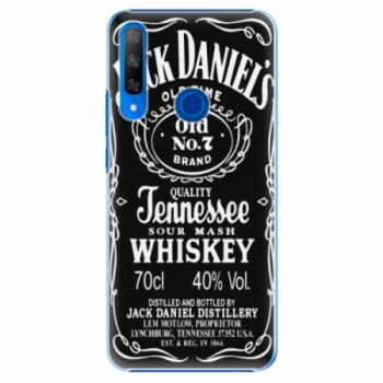 Plastové pouzdro iSaprio - Jack Daniels - Huawei Honor 9X