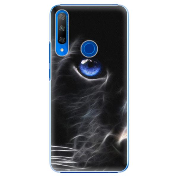 Plastové pouzdro iSaprio - Black Puma - Huawei Honor 9X