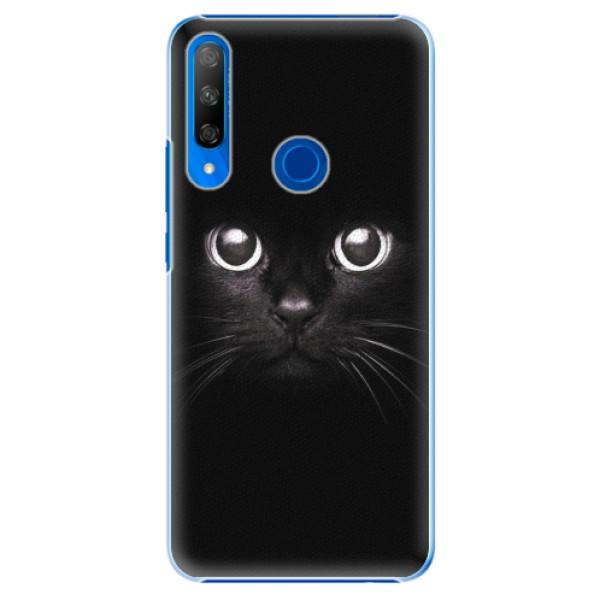 Plastové pouzdro iSaprio - Black Cat - Huawei Honor 9X