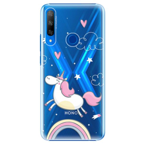 Plastové pouzdro iSaprio - Unicorn 01 - Huawei Honor 9X