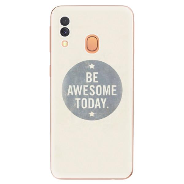 Odolné silikonové pouzdro iSaprio - Awesome 02 - Samsung Galaxy A40