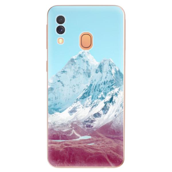 Odolné silikonové pouzdro iSaprio - Highest Mountains 01 - Samsung Galaxy A40