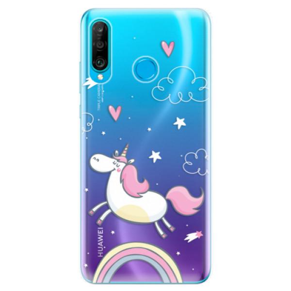 Odolné silikonové pouzdro iSaprio - Unicorn 01 - Huawei P30 Lite