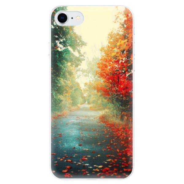 Odolné silikonové pouzdro iSaprio - Autumn 03 - iPhone SE 2020
