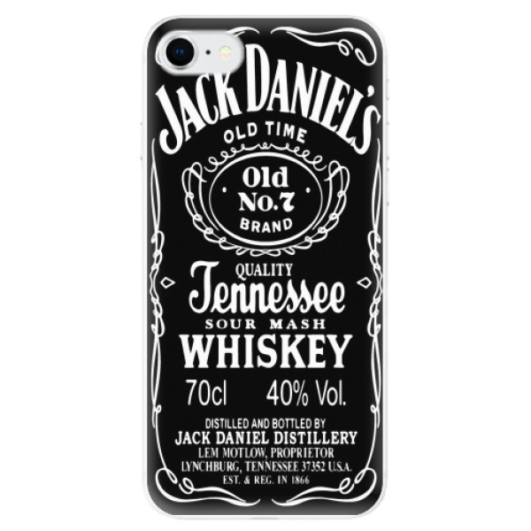 Odolné silikonové pouzdro iSaprio - Jack Daniels - iPhone SE 2020