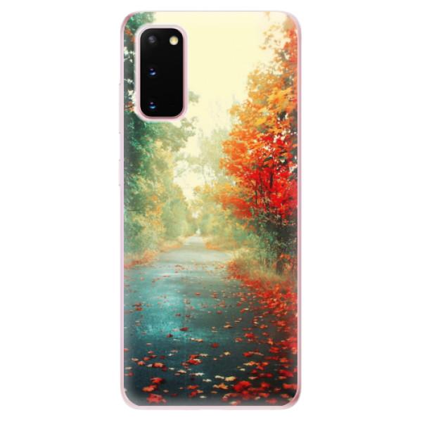Odolné silikonové pouzdro iSaprio - Autumn 03 - Samsung Galaxy S20