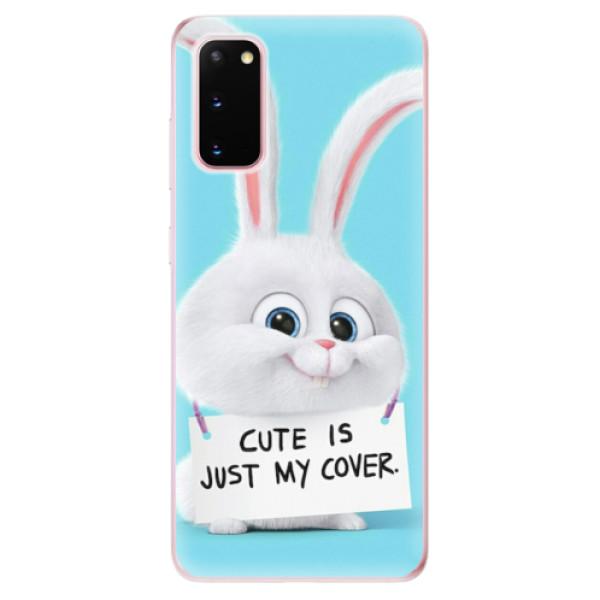 Odolné silikonové pouzdro iSaprio - My Cover - Samsung Galaxy S20